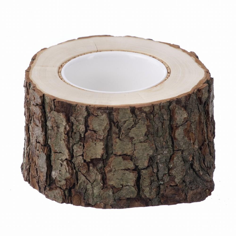 Горшок из дерева