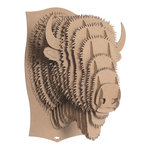 Cardboard Safari Trophy  Billy Bison